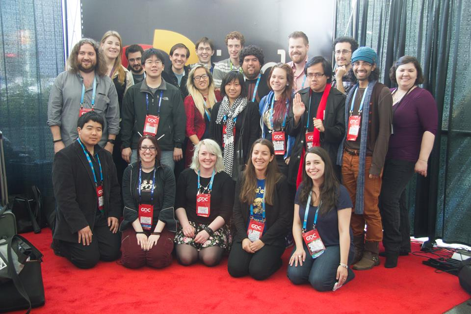The GDC14 cohort of IGDA Scholar.